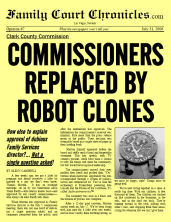 Commissioners Replaced by Robot Clones