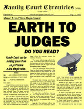 Earth to Judges!