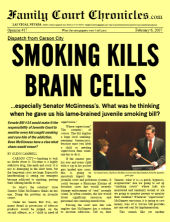 SMOKING KILLS BRAIN CELLS, 2/6/07